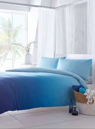 Blue Tie Dye Bedding by Santorini Blue Ombre Bedding Set Home Pinterest Ombre