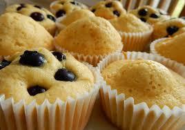 lisacuisine eierlikör muffins mit heidelbeeren