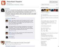 How a Singapore iPhone Repair Shop Does Customer Service on