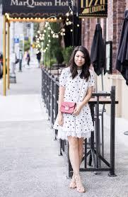 asos polka dot dress just a tina bit