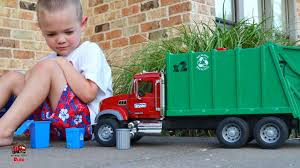 Garbage Truck Videos For Children L It's TRASH Day! L Bruder Mack ... Ambulance Video For Children Kids Truck Fire And Rescue Tow Youtube Alphabet Garbage Learning Vacuum Trucks Color Cars In Spiderman Cartoon Videos Colors Pictures Of For Group 67 Monster Road Roller Excavator