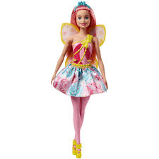 Barbie Fairy Doll Pink Hair The Entertainer