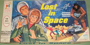 MILTON BRADLEY 1965 Lost In Space Game Vintage Games