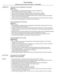 Best Solutions Of Sales Marketing Manager Resume Samples Fancy Territory