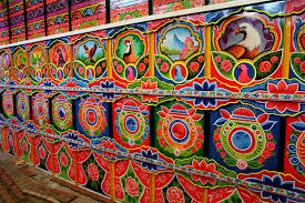 They Use Panels Of Trucks As The Canvas For Art | KolKata Konnector Truck Art Project 100 Trucks As Canvases Artworks On The Road Pakistan Stock Photos Images Mugs Pakisn Special Muggaycom Simran Monga Art Wedding Cardframe Behance The Indian Truck Tradition Inside Cnn Travel Pakistani Seamless Pattern Indian Vector Image Painted Lantern Vibrant Pimped Up Rides Media India Group Incredible Background In Style Floral Folk