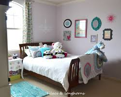 Tween Girls Room Reveal Lilacs And Longhornslilacs Longhorns The Result Is A That We Both Love Home Decor