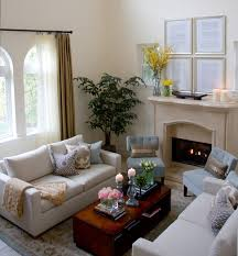 Contemporary and Casual Living room Traditional Living Room