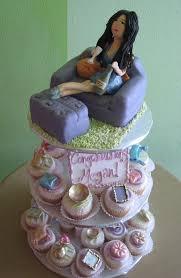 Housewarming Cupcakes With Figurine