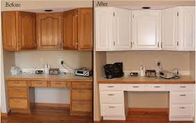 How To Paint Oak Kitchen Cabinets White