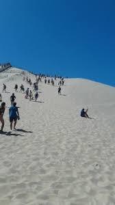 du bas de la dune pour monter bon courage ou descendre