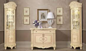 wohnzimmer set komplett 3tl beige hochglanz barock stil
