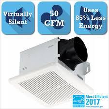Home Depot Bathroom Exhaust Fan by Delta Breez Integrity Series 50 Cfm Ceiling Bathroom Exhaust Fan