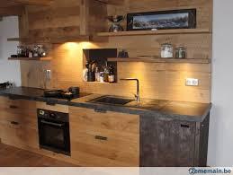 meuble cuisin planches chêne idéal placard meuble cuisine portes cloisons a