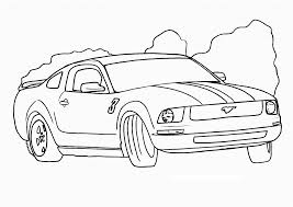 Cars Coloring Pages Printable Free Race Car For Kids Sheets