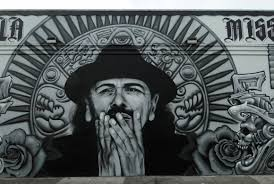 Balmy Street Murals Address by Carlos Santana Street Art Sf