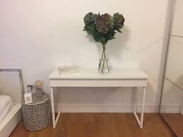 Ikea Besta Burs Desk by Ikea Besta Burs White Gloss Console Table For Sale In London
