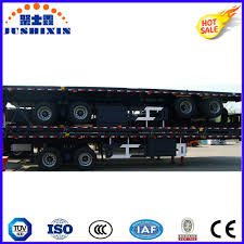 China 2 Axle 40FT /20FT Flatbed Container Transportation Truck ...
