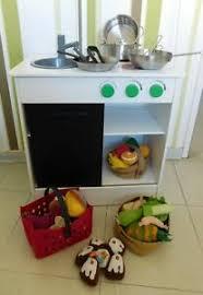 details zu 4 kinderküche spielküche küche mit viel zubehör ikea nybakad