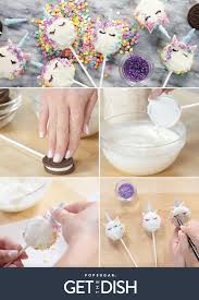 Oreo Unicorn Cookie Pops