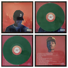 Coloring Book Chance Vinyl Rare The Rapper Green Kush Color Lp