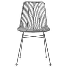 Bloomingville Rattan Dining Chair Lena - Gray - Bloomingville Lotta Ding Chair Black Set Of 2 Source Contract Chloe Alinum Wicker Lilo Chairblack Rattan Chairs Uk Design Ideas Nairobi Woven Side Or Natural Flight Stream Pe Outdoor Modern Hampton Bay Mix And Match Brown Stackable