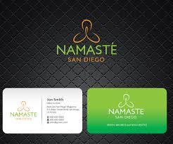 Business Card Design By Joliau For Yoga Magazine Needs Simple