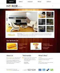 100 Interior Architecture Websites Design Templates Html Template Themeforest Website