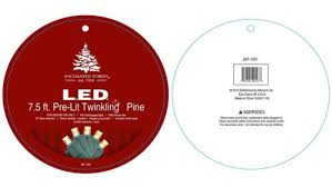 CONSUMER ALERT MN Company Recalls Artificial Christmas Tree Was Sold At Menards