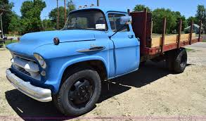 1957 Chevrolet 6500 Flatbed Truck | Item K6020 | SOLD! July ... 1957 Chevrolet 3100 Pickup V8 Project Chevy Trucks For Sale In Sc Pics Drivins 57 Pickup Truck Lovely Show Rochestertaxius Chevy Photos Auto Show Daytona Spring Car Swap Meet 50s Task Force Wikipedia 1955 Celebrities Pinterest Ez Chassis Swaps Pin By Jim Brader On Dream Truck Trucks Jaxcarsnet Classic 1797 Dyler