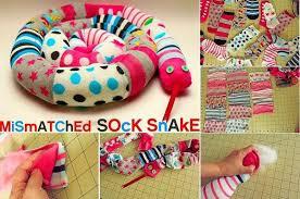 DIY Mismatched Sock Snake Craft Tutorial