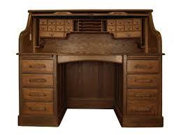 Ethan Allen Dark Pine Roll Top Desk by Antique Office Desks Vintage Oak Roll Top Desk Style Desks