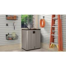 Suncast Storage Cabinet 4 Shelves by Resin Storage Systems Garage Storage Sheds U0026 Storage Suncast