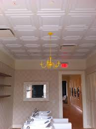 Ceilume Drop Ceiling Tiles by Cambridge White Ceilume Ceiling Tiles Installed In This Lovely San