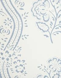 ashdown wallpaper white wallpaper with light blue floral design
