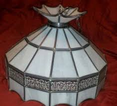 Tiffany Style Lamps Vintage by Imposing Ideas Vintage Stained Glass Hanging Lamp Enjoyable