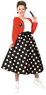 Rubies Costume Fabulous 50s Polka Dot Sock Hop Girl Multicolored One Size Amazon Price 5100 1908 Buy Now As Of Jan 28 2016