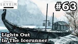 Elder Scrolls Skyrim SE Lights Out In The Icerunner