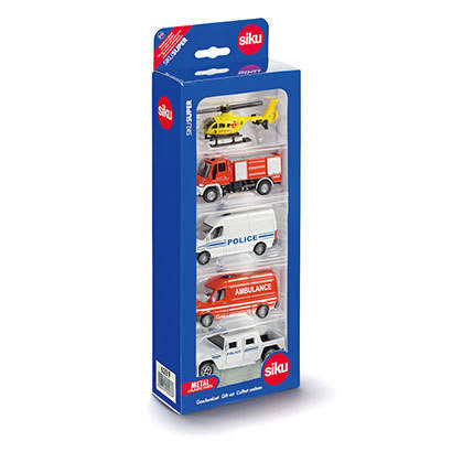 Siku Emergency Vehicles Set