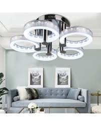 Modern LED Chandelier Ceiling Light With 5 Head Lamp For Dining Room Kitchen And Living