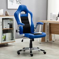 Ebay Computer Desk Chairs by Office Chair Ergonomic Computer Pu Leather Desk Race Car Bucket