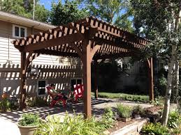 14' X 18' Timber Frame DIY Pergola Kit Replaces Wood Pergola ... Pergola Gazebo Backyard Bewitch Outdoor At Kmart Ideas Hgtv How To Build A From Kit Howtos Diy Kits Home Design 11 Pergola Plans You Can In Your Garden Wood 12 Building Tips Pergolas Build And And For Best Lounge Hesrnercom 10 Free Download Today Patio Awesome Diy