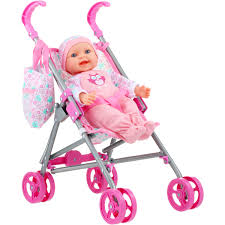 Tinkers Baby Doll With Stroller Set BIG W