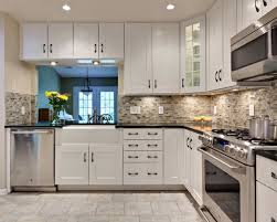 gray tile backsplash ideas white subway with light grey grout
