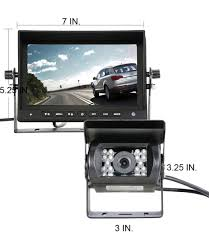 Accfly 7″ TFT LCD Color HD Screen Display Monitor IR Night Vision ... Pov Ptz Remote Camera System Adds Flexibility To New Nep Hd Istrong Digital Wireless Backup Camera System For Rvucktrailer Shop Pyle Plcmtrdvr41 Waterproof Dvr Driving With 7 2018 Inch Quad Split Screen Monitor 4x Side Car Rear View Ccd Midland Truck Guardian Reversing 4 Cameras Work Systems And Utility Federal Best Trucks Amazoncom 43 Trucarpickup Wireless Rear View Back Up Night Vision Tesla Semi Supcharger Stop Teases Sleeper Features 26camera Cameras