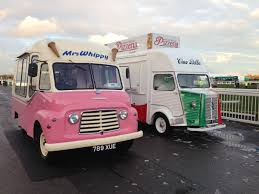 Mrs Whippy' Sister Vintage Commer Ice Cream Van To 'Mr Whippy' And ...