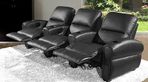 cinema fauteuil 2 places canape relaxation 3 places home cinema noir repose tete repose pieds