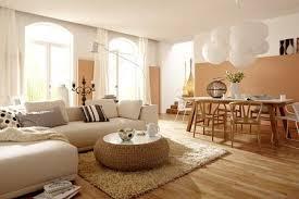 einrichten mit farbe wohnzimmer in hellen holzfarben bild