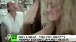 Freddie Mercury Death Bed by Brian May Says Freddie Mercury Lost Foot Following Aids Ok Magazine