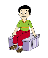 Sitting Coloring Pages For Kids To Color And Print