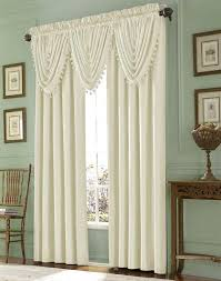Priscilla Curtains With Attached Valance by Curtain With Valance Attached Soozone